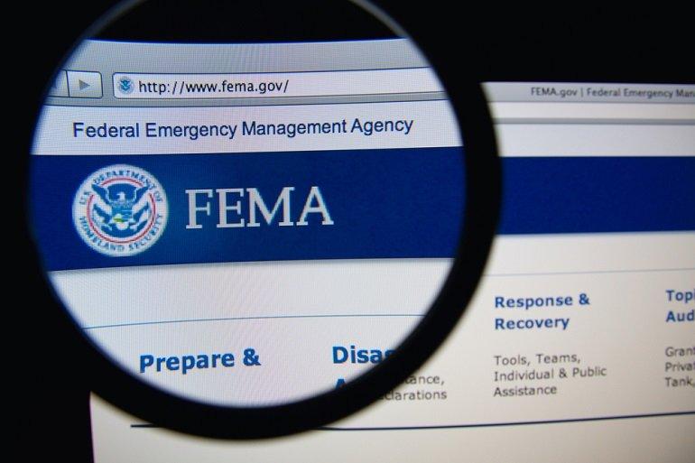 FEMA magnify glass