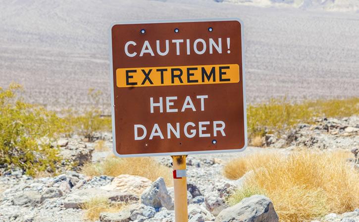 extreme heat sign